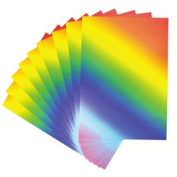 A4 Rainbow Card 200gsm - Pack 30 - KW13069